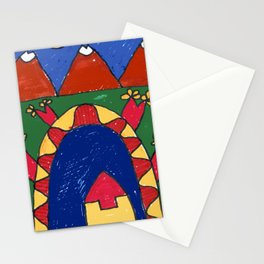 Under the Volcano Stationery Cards
