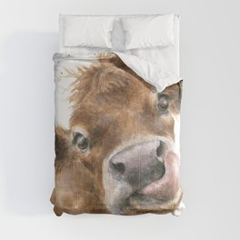 Face baby cattle Comforters
