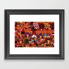From Pipli Framed Art Print