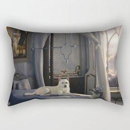 The Waiting Rectangular Pillow
