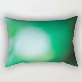 Green Surprise Rectangular Pillow