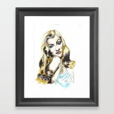 Veronica Lake Framed Art Print