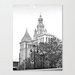 WHITEOUT : Kingdom Come Canvas Print