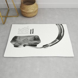 Rappers Delight Print · Lyrics Print · Classic Rap Art · Music · Bedroom Art · Wall Art Decor · Home Rug
