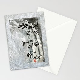 Snow winter Stationery Cards