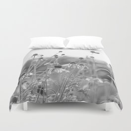 Wildflowers in the country Duvet Cover