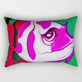Wall Fish Rectangular Pillow