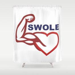 swole- Shower Curtain