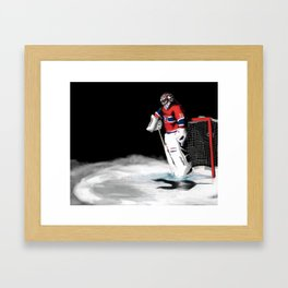 Carey Price Framed Art Print