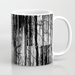 Forest Winter Pattern Coffee Mug