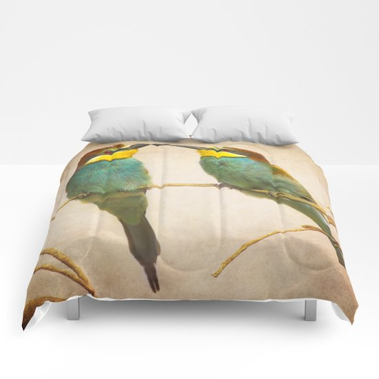 Love time. Bee-eaters Comforters