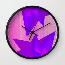 Near Collision Wall Clock