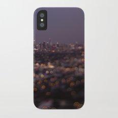 Angel City Lights (L.A. at Night) Slim Case iPhone X