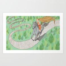 Beauty & The Beast Art Print