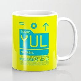 Baggage Tag C - YUL Montreal Canada Coffee Mug