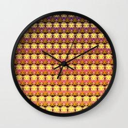 Lion Head Pattern Wall Clock