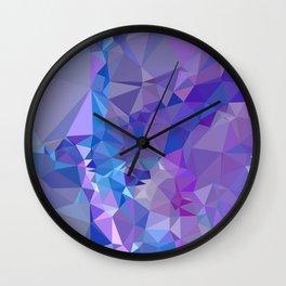 Abstract mosaic pattern Wall Clock