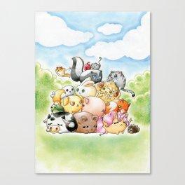 Chibi-Creatures Canvas Print