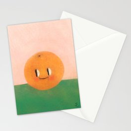 Happy happy Tangerine Stationery Cards