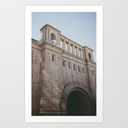 Brooklyn Building Art Print