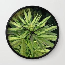 Croptober in Candyland Wall Clock
