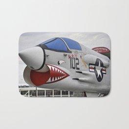 1957 F-8K Crusader Bath Mat
