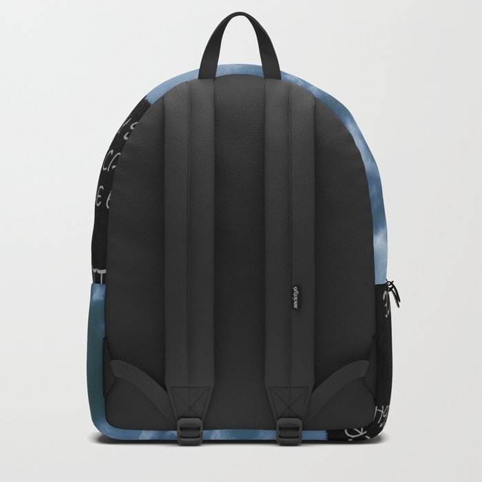 The little prince and the fox - dream version blue - quote Backpack