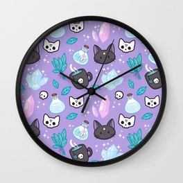 Herb Witch Wall Clock