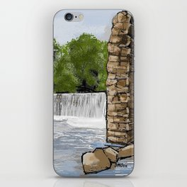 Boshell Mill's Remains iPhone Skin