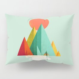 Little Geometric Tipi Pillow Sham