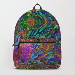 Buddha 5 geometry III Backpack