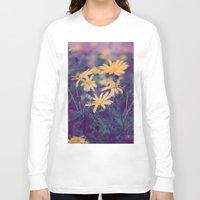 woodstock Long Sleeve T-shirts featuring Woodstock Daisy  by Scotty Photography