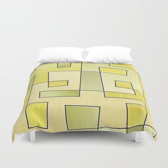 "Proto pattern n 2 ""fresh lemonade"" Duvet Cover"
