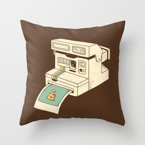 Insta gram Throw Pillow