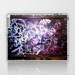Bathroom Graffiti II Laptop & iPad Skin