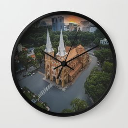 Notre-Dame Cathedral Basilica of Saigon Wall Clock