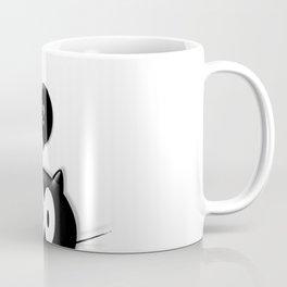 Confused Cat Coffee Mug