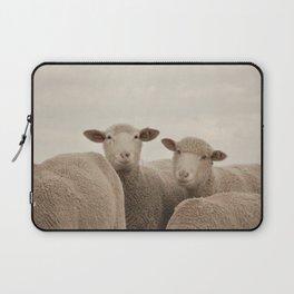 Smiling Sheep  Laptop Sleeve