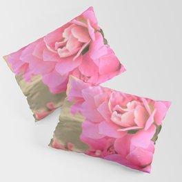 peach colored flower Pillow Sham