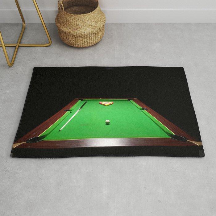 Pool Table Rug By Jumpingtracks Society6