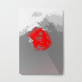 lippy Metal Print