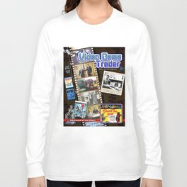 Video Game Trader #32 Cover Design Long Sleeve T-shirt