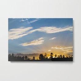 Bryce Sunset Metal Print