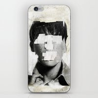 ruben iPhone & iPod Skins featuring Faceless | number 02 by FAMOUS WHEN DEAD