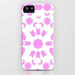 Pink Arabesque iPhone Case