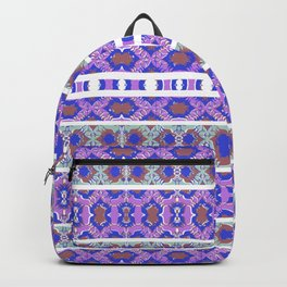 Vintage Striped Ornate Pattern Backpack