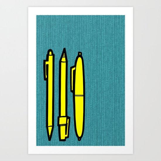 Doodlers Win Art Print
