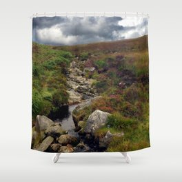 Wicklow Mountains, Republic of Ireland Shower Curtain