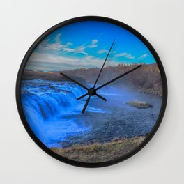 Faxi waterfall. Wall Clock