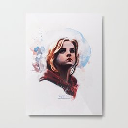 The Brightest Witch Metal Print